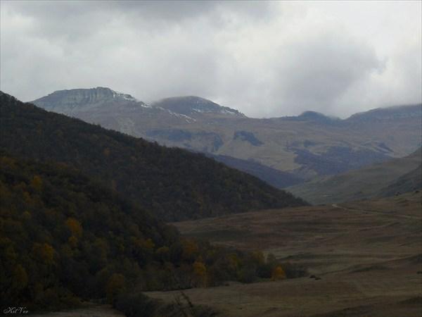 Вершины Бермамыта накрывает непогода