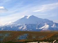 Эльбрус и плато Бермамыт