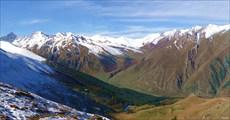 Перевал Эпчик с  перевала Карачай-Ауш
