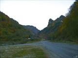Развилка дорог в долину реки Худес