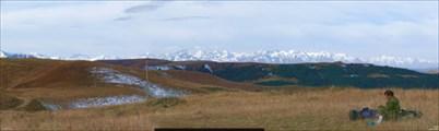 На плато Бечасын