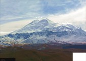Эльбрус с плато Бечасын