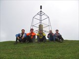 Тригопункт на Верхнем Джинале. Фото - Владислав Васильев