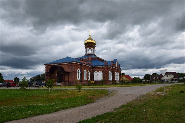 Введенская церковь в п.Новосёлки
