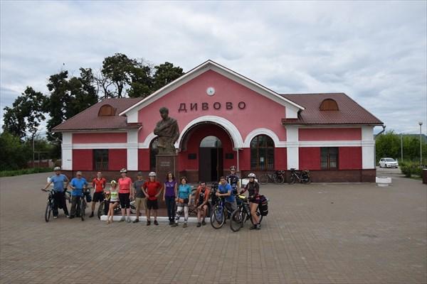 Мини-музей Есенина в здании ж/д.вокзала ст. Дивово