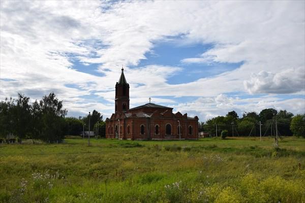 Рождественская церковь в Григорьевском