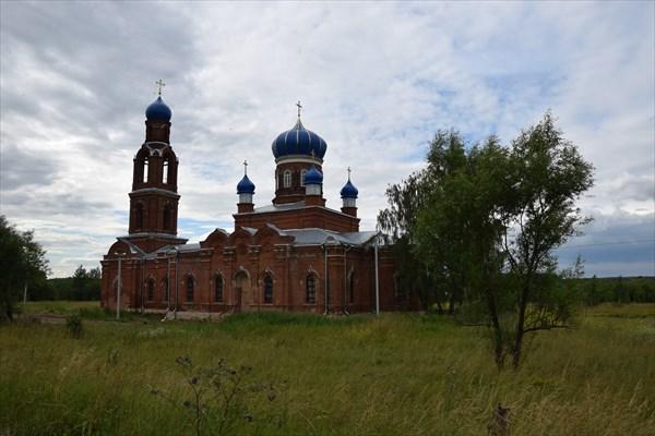Благовещенская церковь в п.Клин-Бельдин