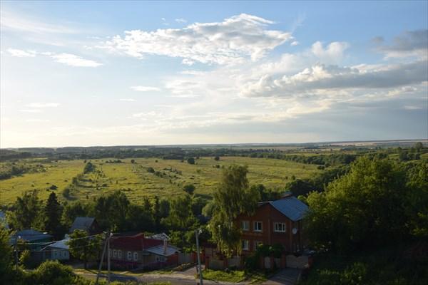 Панорама Зарайских окрестностей