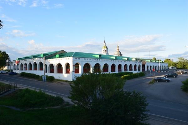 Гостинный двор в Зарайске