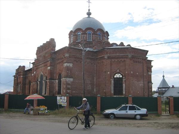 Храм Сергея Радонежского в посёлке Агро-Пустынь