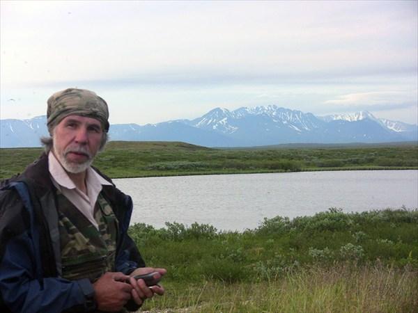 В лабиринте тундровых озер, неоценимую помощь оказывает GPS.