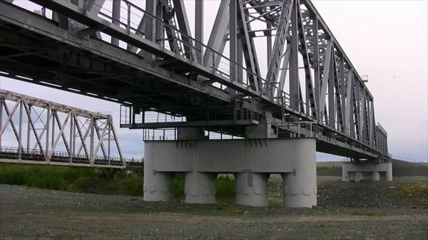 Бованенковская трасса. Мост через Щучью.