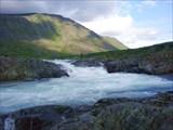Верхне-Карский водопад.