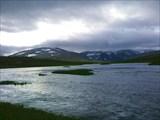 Река Малая Щучья в верхнем течении.