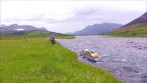И вновь на бечеве - на озеро Большое Щучье.