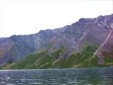 Западный берег озера в северной его части.