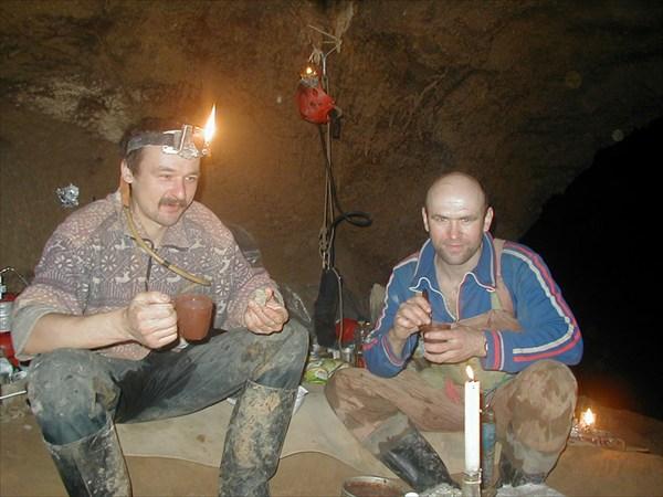 В лагере красноярцев в Шумной Базе