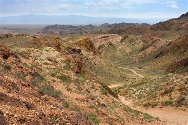Спуск в каньон