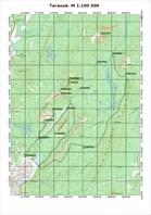 Таганай, 1: 100 000