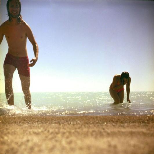 Балхаш. Белый пляж.