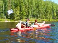 Карелия. Водный поход на байдарках (август 2014 года)