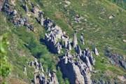 Каменные грибы, урочище Аккорум, долина Чулышмана
