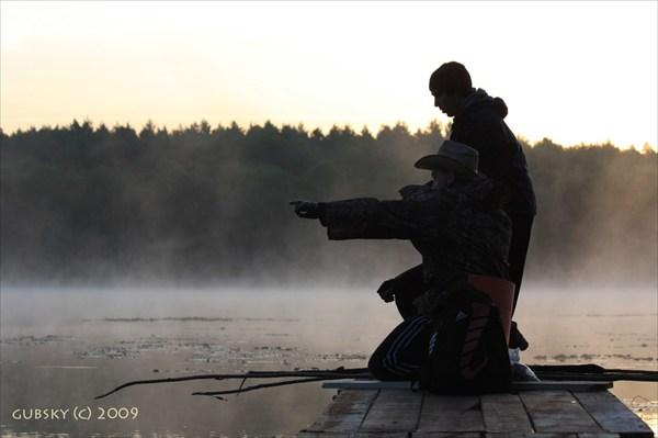 на фото: Рыбалка на оз.Линёво