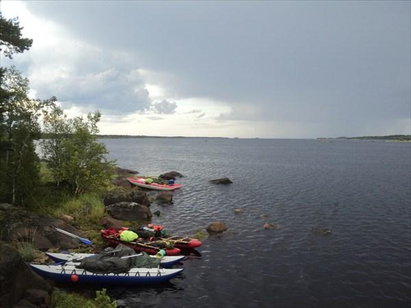 На островах в Белом море