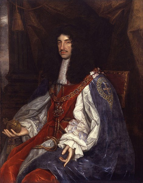 007-King Charles II by John Michael Wright