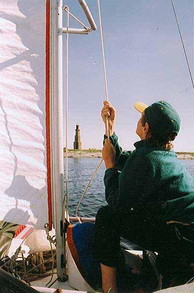 Курс на маяк на острове Нахконица