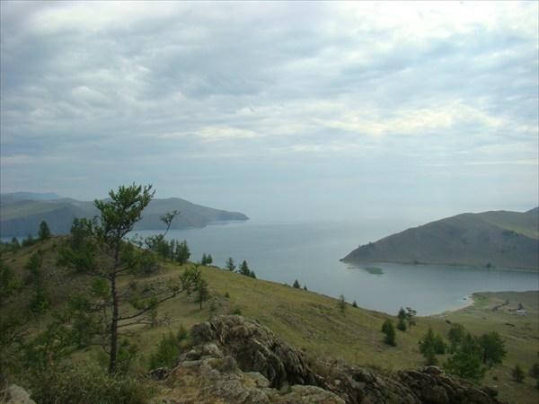 Безбрежный Байкал и пролив Ольхонские ворота