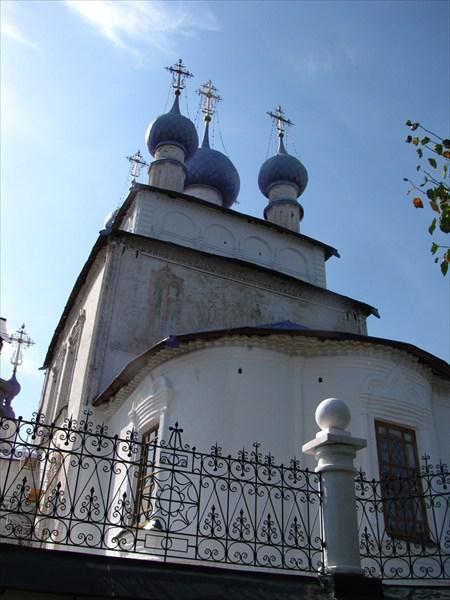 Крестовоздвиженский храм с. Палех