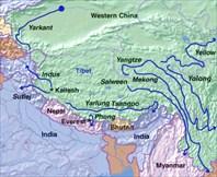 Реки Тибета