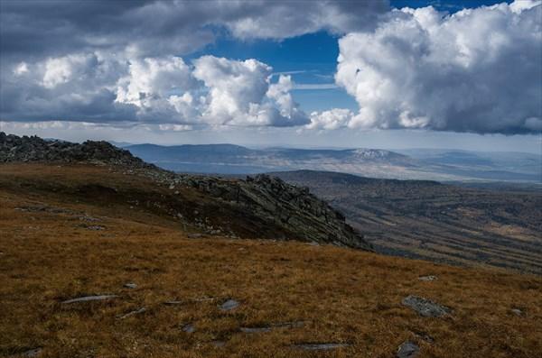 Нургуш, вершинное плато