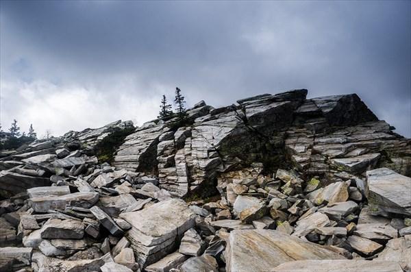Каменные завалы