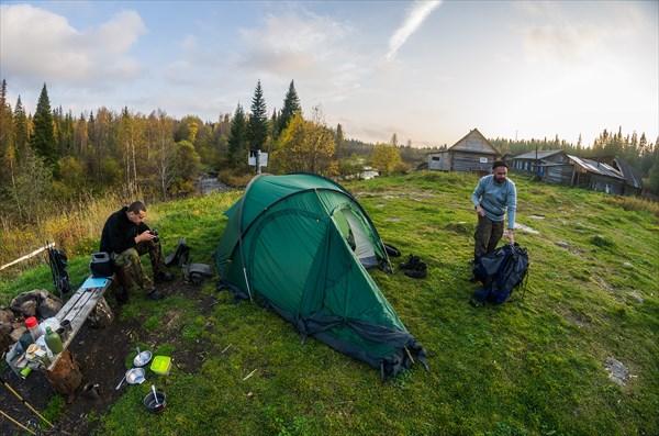 Наш лагерь на кордоне 2