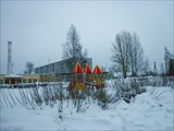 Детская площадка деревни Старополье