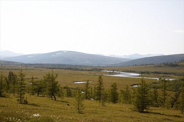 Полярный Урал, р. Щучья