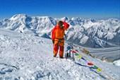 На вершине Хан-Тенгри 7010 м