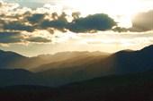 Французские Пиренеи. Закат в горах