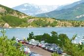 Ронские Альпы. Озеро (водохранилище) Серре-Понкон