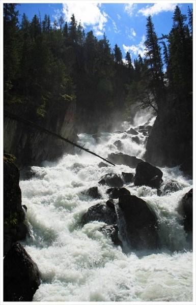 Слияние рек Кони-Айры и Йолдо-Айры