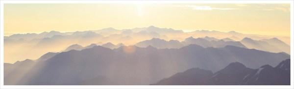 Рассвет на Восточной Белухе