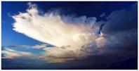 Большое грозовое облако над Кара-Тюреком