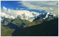 Белуха. Вид с перевала Кара-Тюрек
