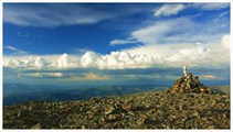 Вид на север с перевала Кара-Тюрек