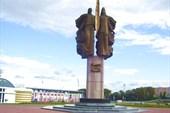 """Памятник """"Навеки с Россией"""""""