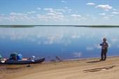 Песчаные пляжи Печоры