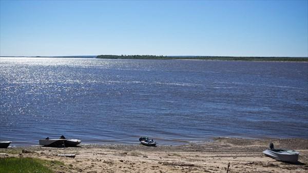 Печора у Хабарихи