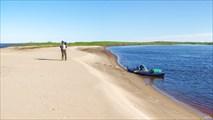 Песчаные берега Печоры